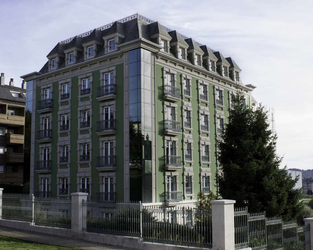 Primer edificio pintado con Soldalit-Coolit de España